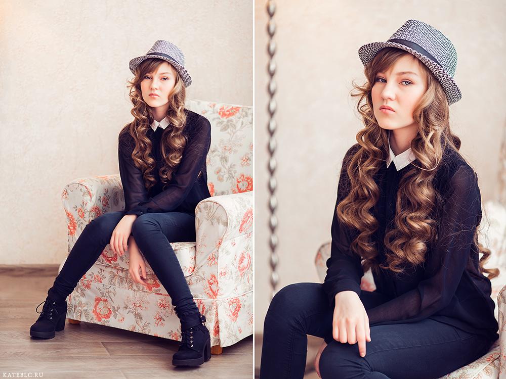 фотосессия для девочки в студии, фотосессия для дочки. World family photographer