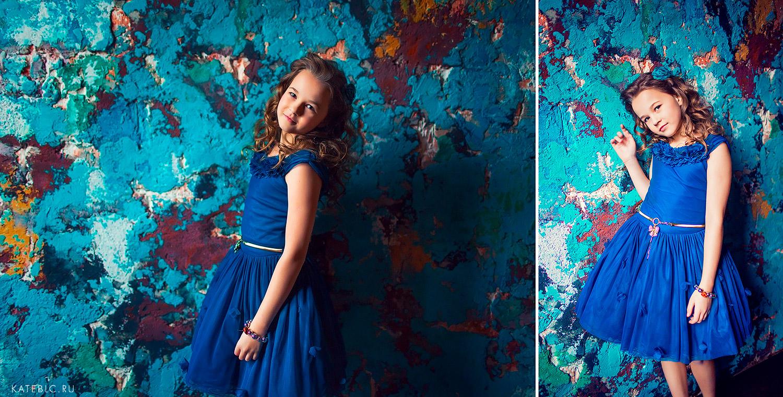 фотосессия для девочки в студии