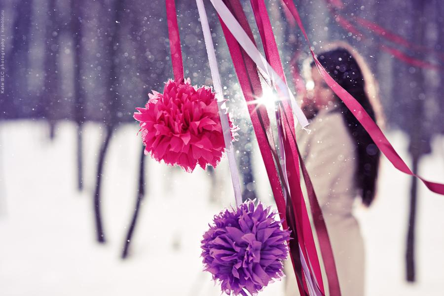 Зимняя фотосессия в лесу. Новогодняя фотосессия, портрет, портретная фотосессия, фотограф Катрин Белоцерковская. Kate BLC photography.
