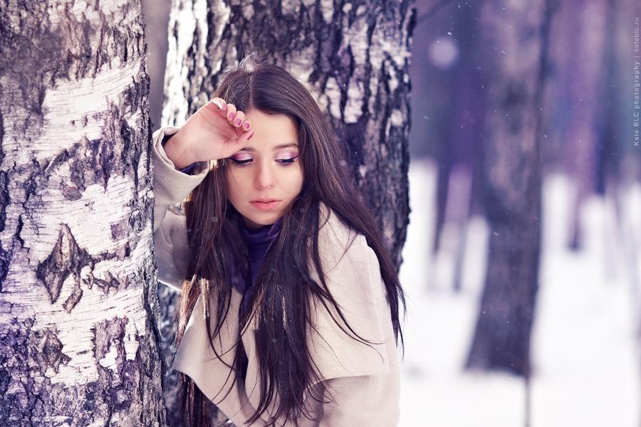 Портретная фотосессия. Яркая фотосессия в лесу. Фотограф Катрин Белоцерковская. Kate BLC Photography. kateblc