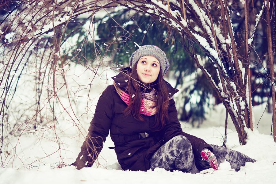 Как сделать фотосессию зимой
