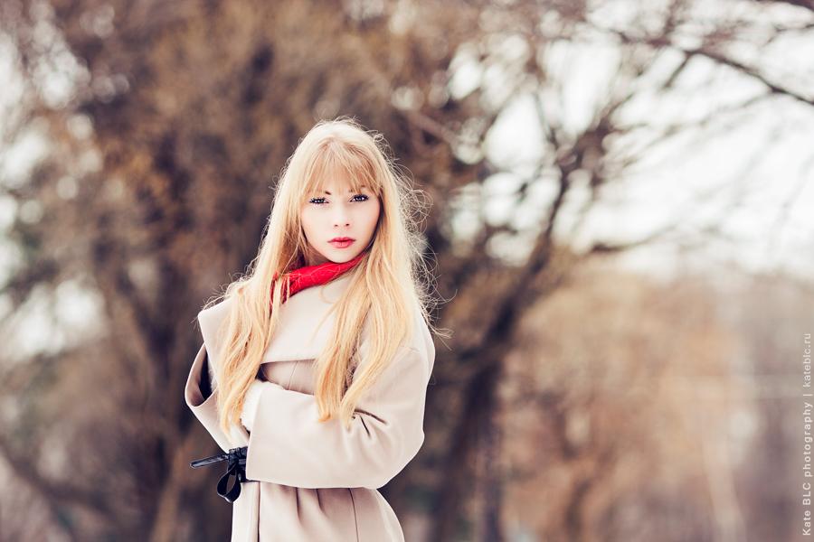 Портретная фотосессия в парке