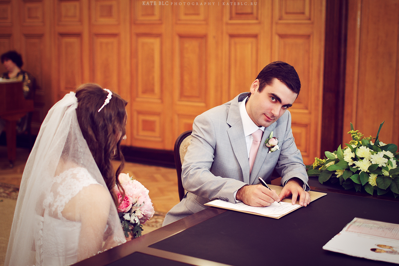 Грибоедовский загс. Фотограф на свадьбу. Катрин Белоцерковская. Kate BLC