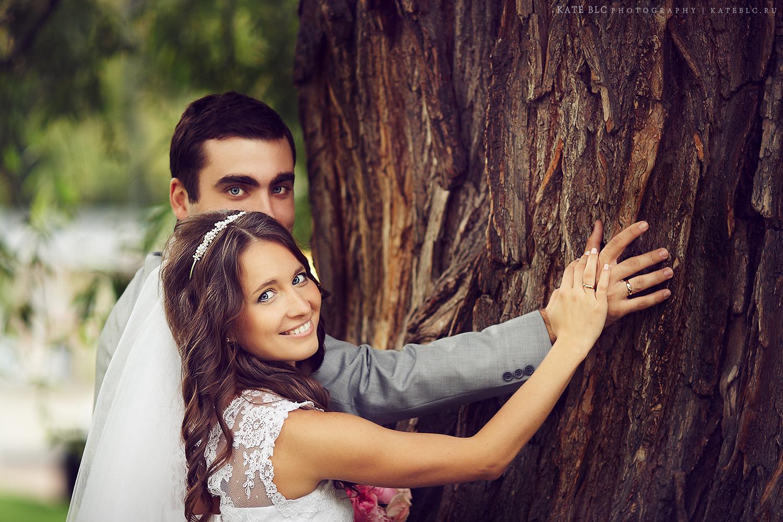 Свадебная фотосъемка в Екатерининском парке. Заказать фотосессию в Москве. Фотограф Катрин Белоцерковская. Kate BLC