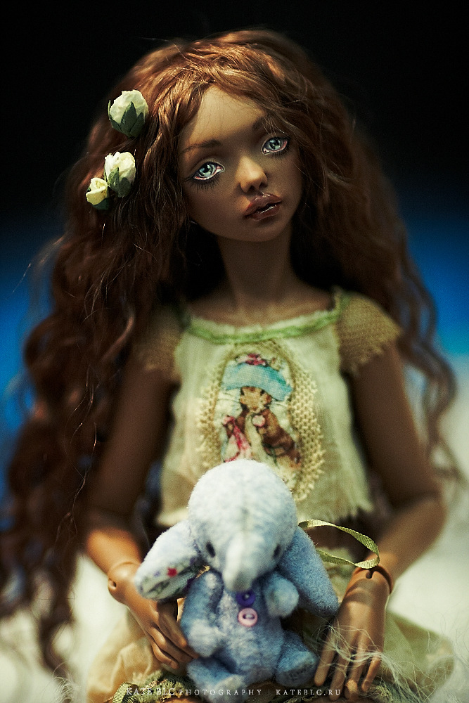 автор: Елена Акимова. IX Международный Салон Авторских Кукол