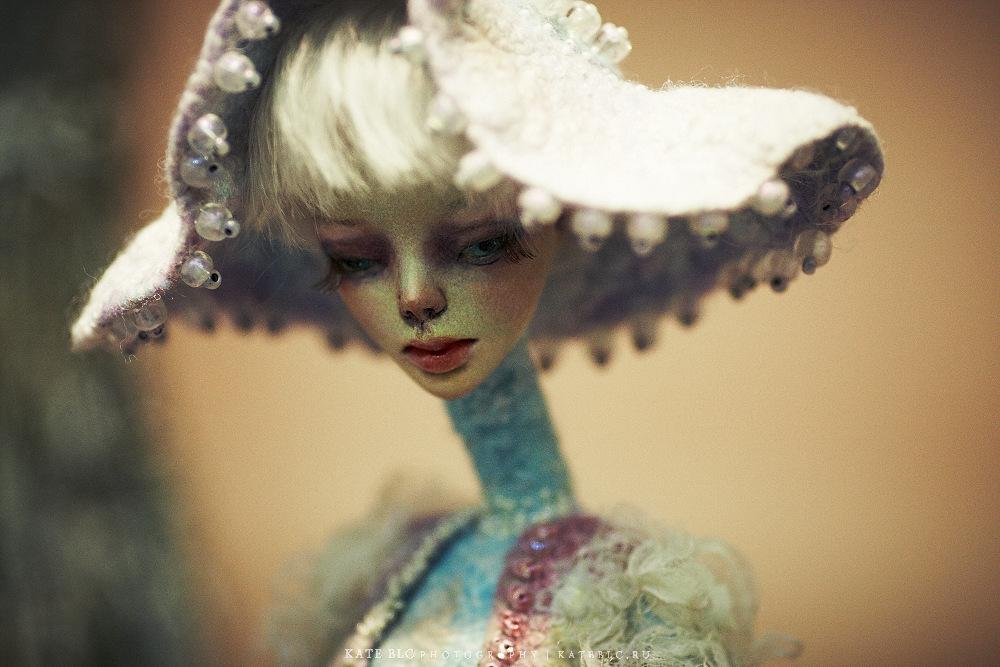 автор Ирина Дейнеко. IX Международный Салон Авторских Кукол