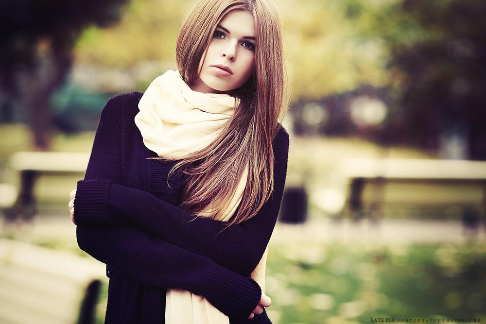 Фотосъемка на улице. Осень. Девушка.
