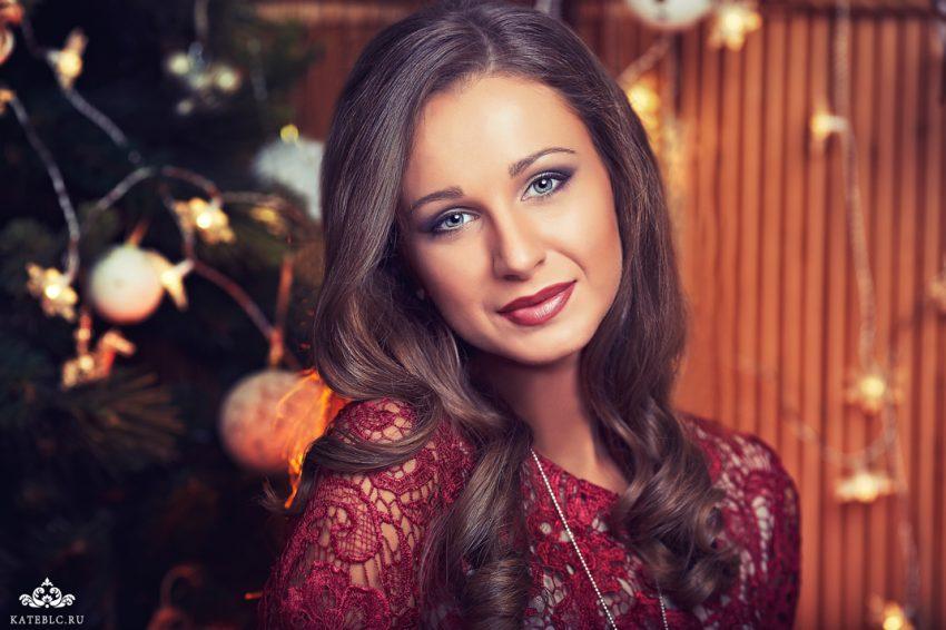Новогодняя фотосессия в студии москва