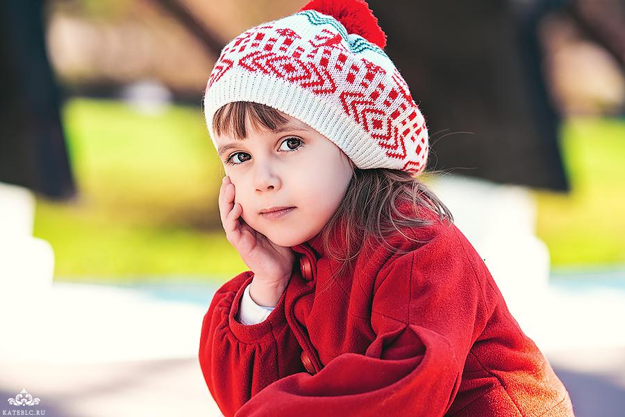 детская фотосессия в москве в парке