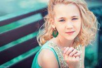 Портрет девочки. Красивая фотосессия для ребенка в Москве.
