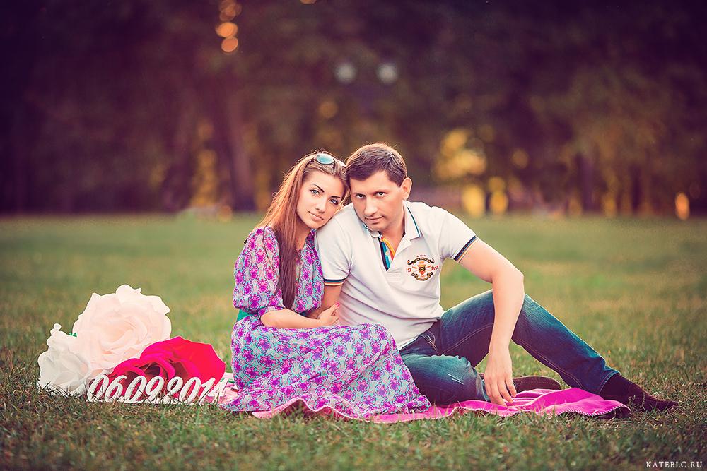 Сергей и Вика. Фотосессия для двоих. Фотосессия лавстори.