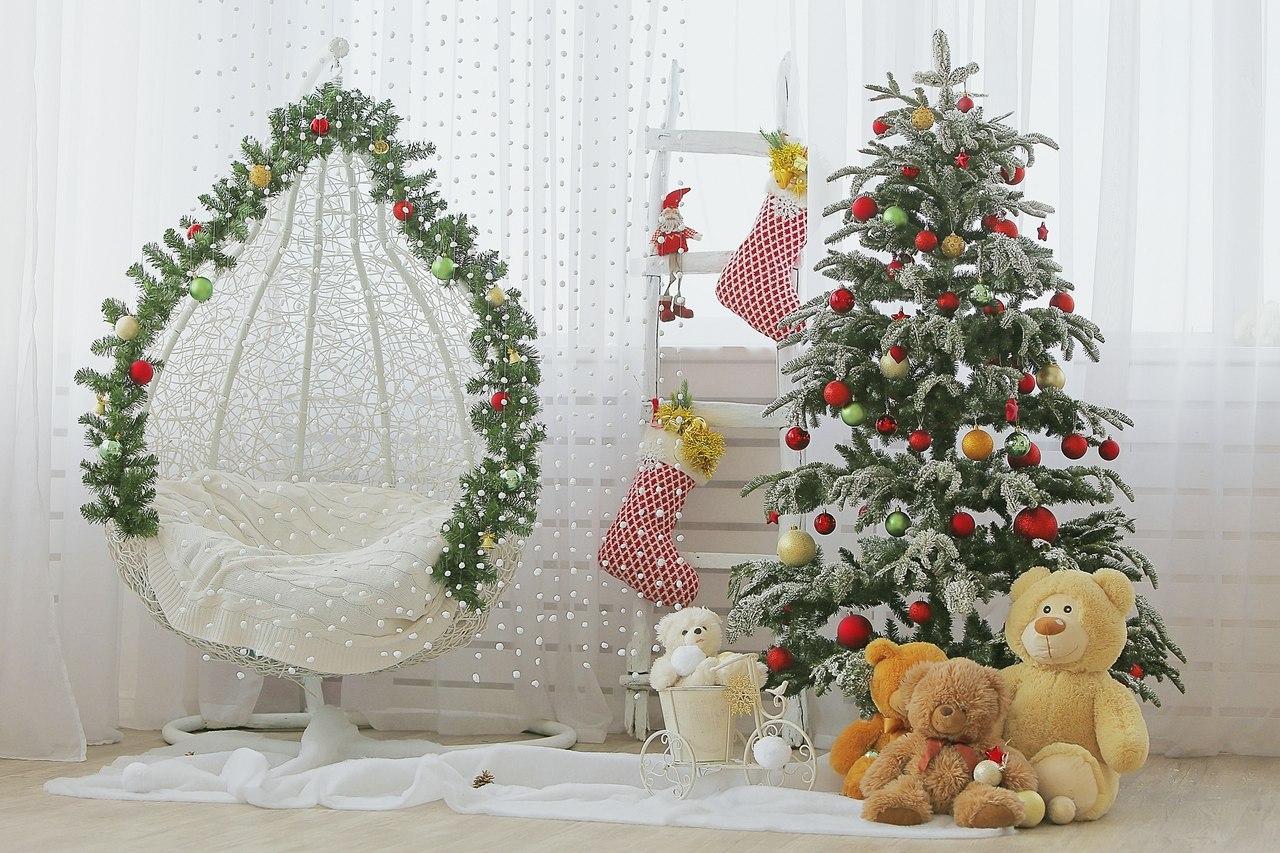 Студия дер шпигель новогодние декорации