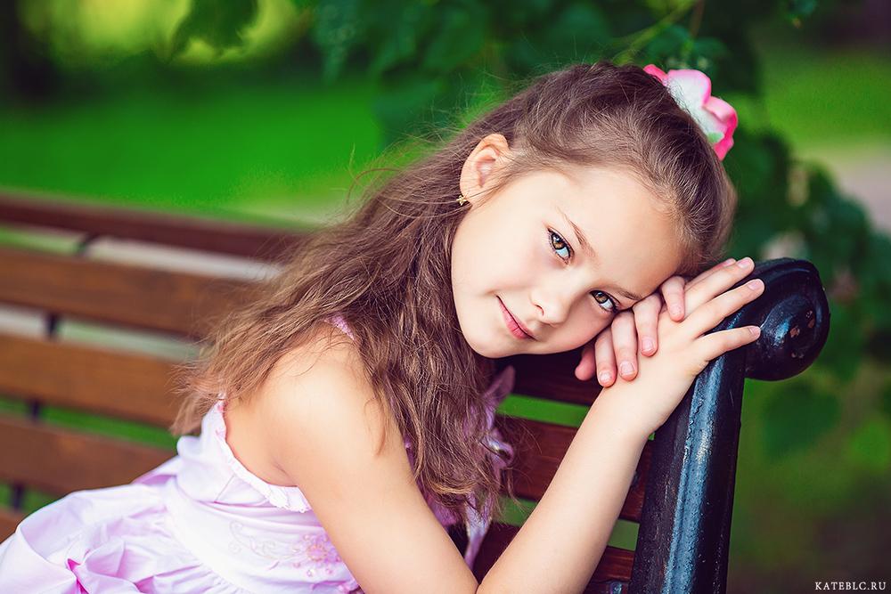 Фотосессия для детского портрфолио