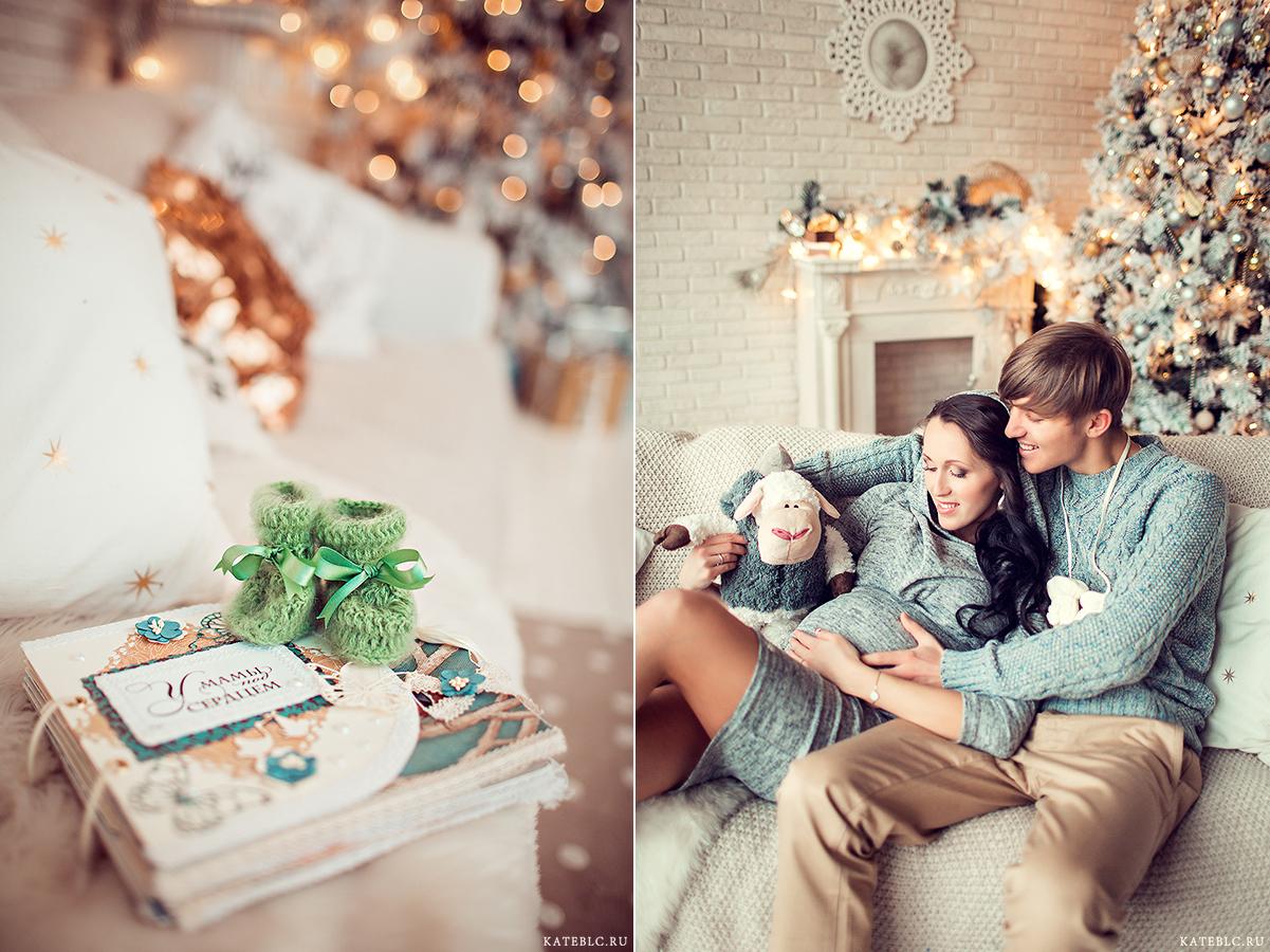 Фотосессия для беременных с мужем