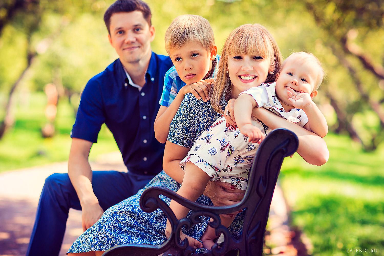 Семейные фотосесии в Москве. Заказать фотосессию