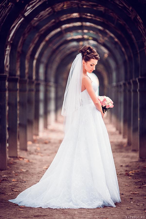 Невеста. Свадебный портрет.