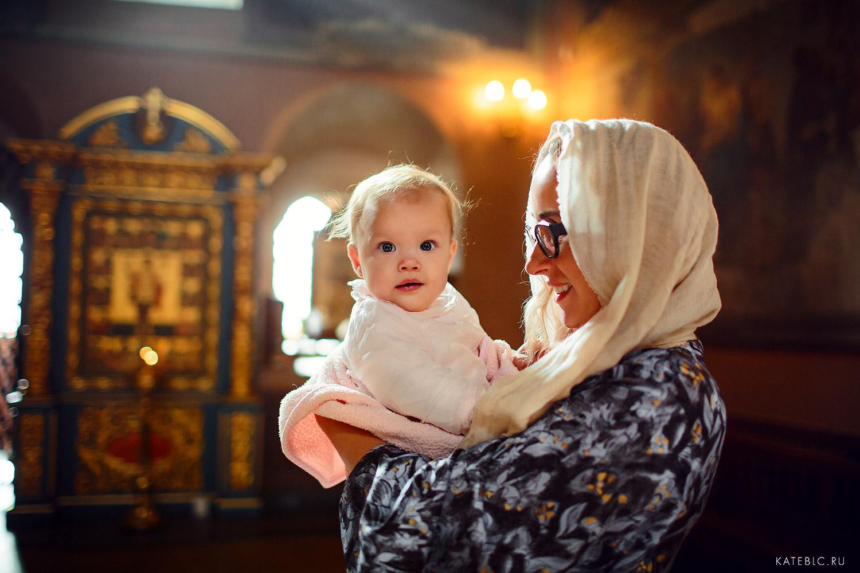 Фотосъемка крещения в крутицком подворье