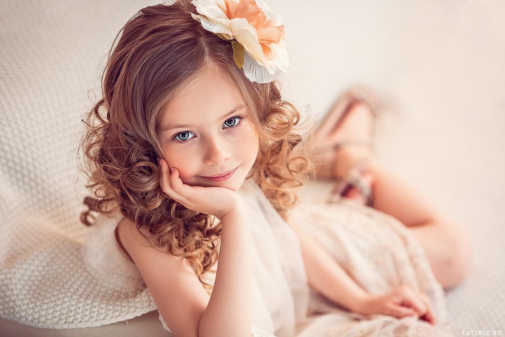 Студийная фотосессия для девочки