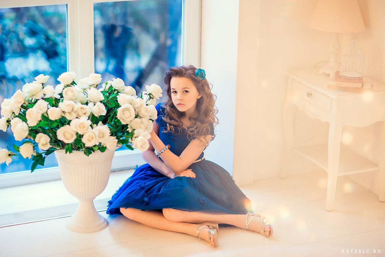 Портфолио для девочки. Детский фотограф Москва