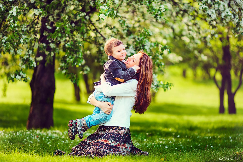 Фотосессии на природе для семьи
