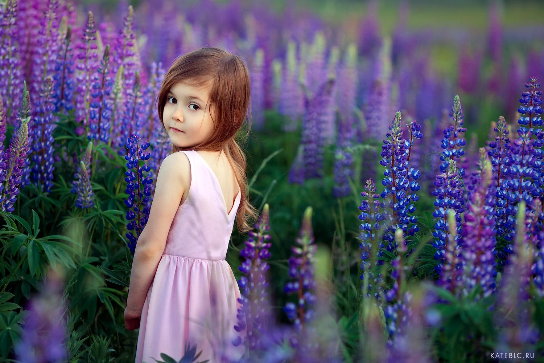 Фотосессия на природе для детей