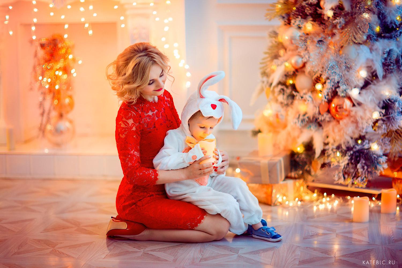 Сказочная новогодняя фотосессия в Москве