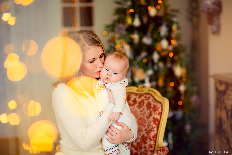 фотосессия с малышом до года в студии