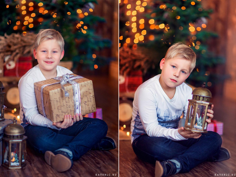 Новогодняя фотосессия для детей в студии дада волгоградка