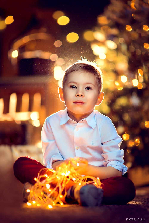 Семейный фотограф для новогодней фотосессии