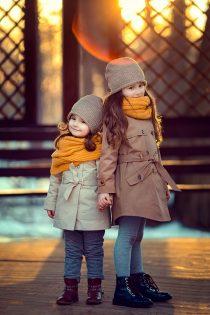 детский фотограф в Москве. Фотосессия на природе весенняя для девочек. Катрин Белоцерковская