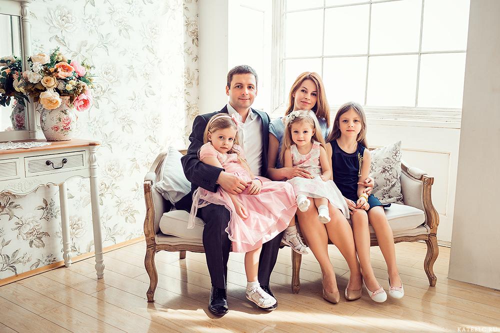 Фотостудия семья