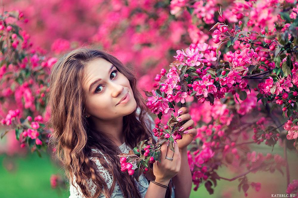 фотосессия в цветущем саду май 2015
