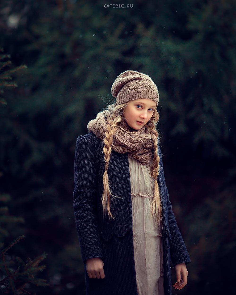 Портретная фотосессия для девочки. детский фотограф Катрин Белоцерковская