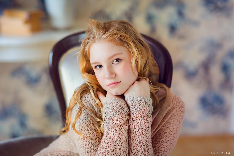 Портрет девочки. Фотосессия для портфолио. Детский и Семейный фотограф Катрин Белоцерковская