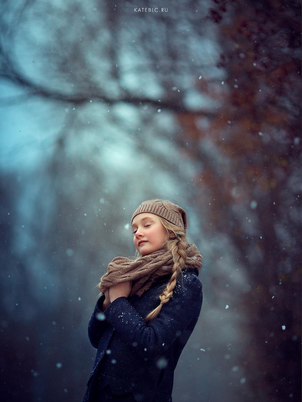 Фотосессия для девочки на природе. Лучший детский фотограф Москвы Катрин Белоцерковская