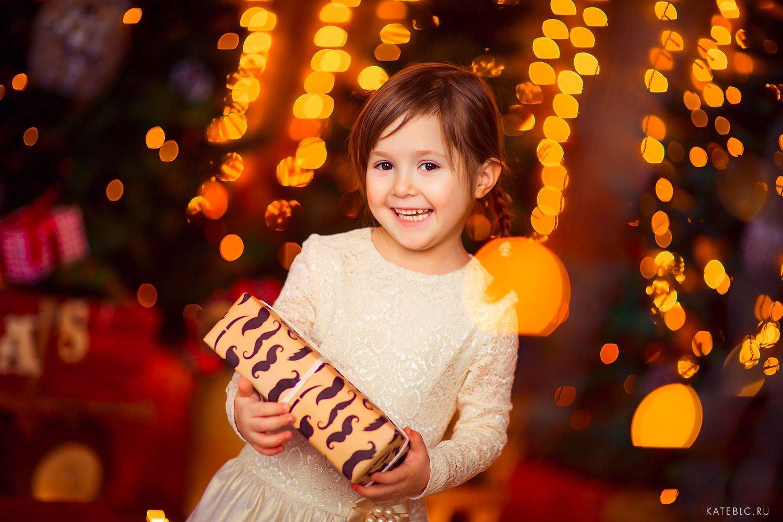 Фотосессия для девочки на новый год