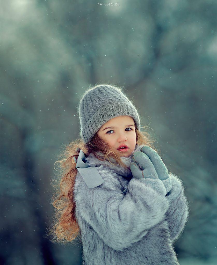 Зимняя фотосессия на природе. Детский фотограф в москве