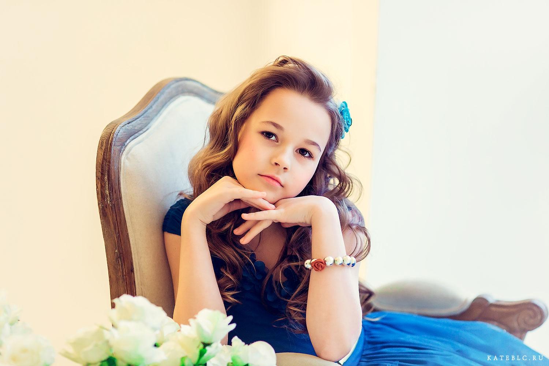 Портретная фотосъемка в студии для детей. Детский фотограф Катрин Белоцероковская