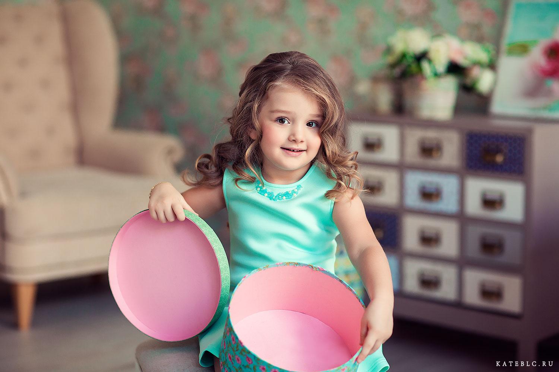красивая фотосессия для дочки