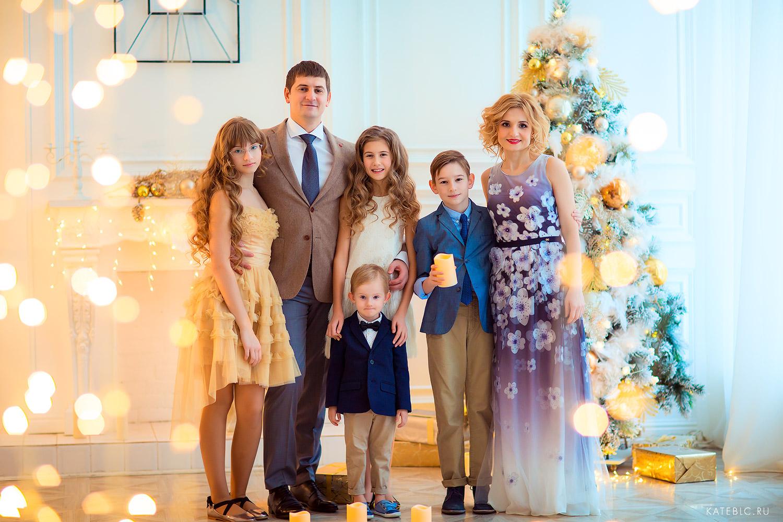 семейная фотосессия в стдуии