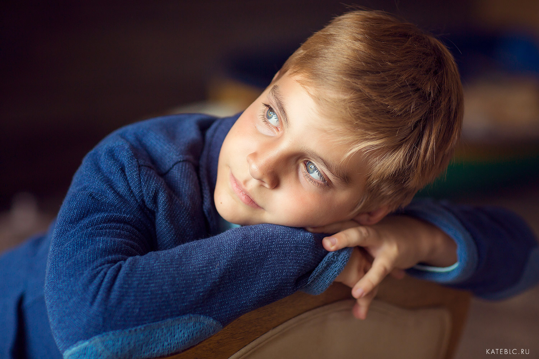 Портрет мальчика в Фотостудии. Фотограф Катрин Белоцерковская 2017