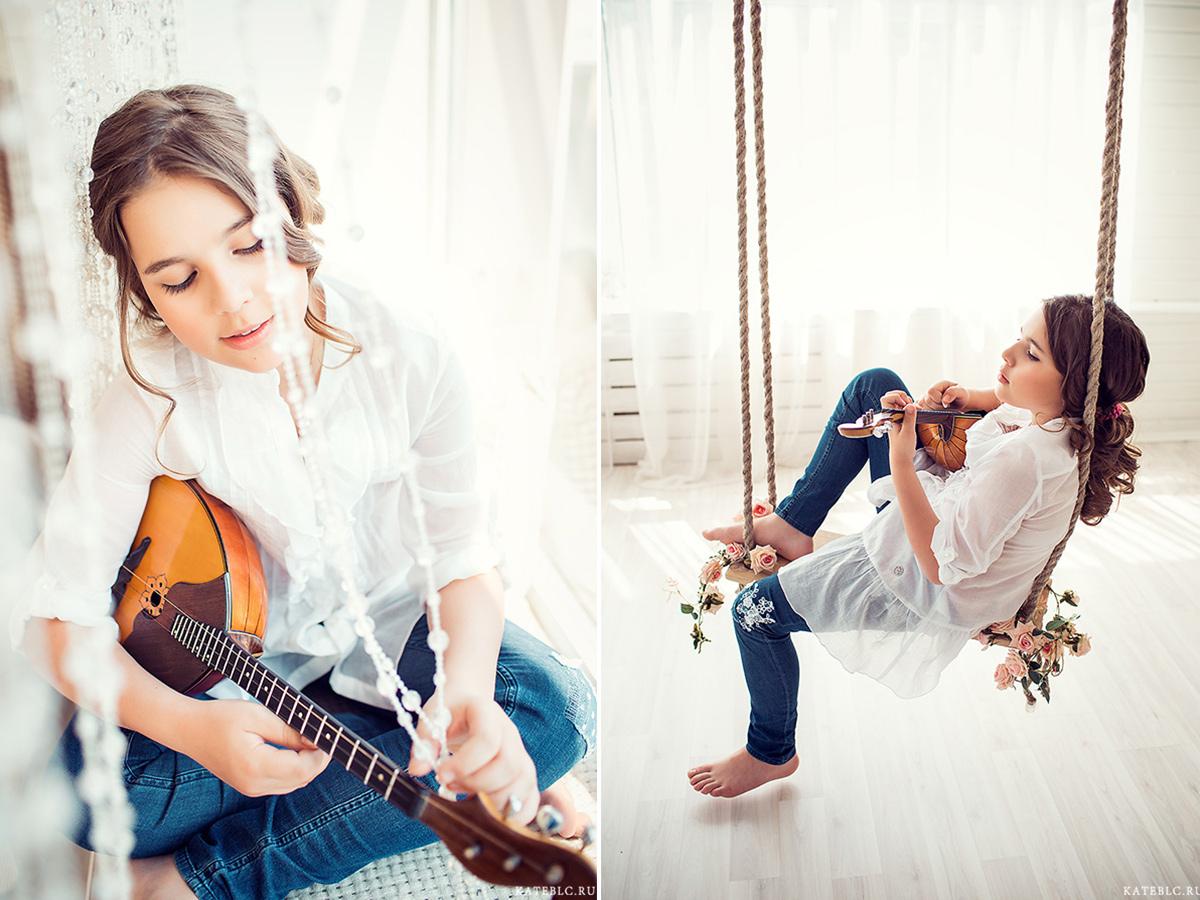 Заказать нежную фотосессию в студии в Москве. Фотограф Катрин Белоцерковская. kateblc.ru