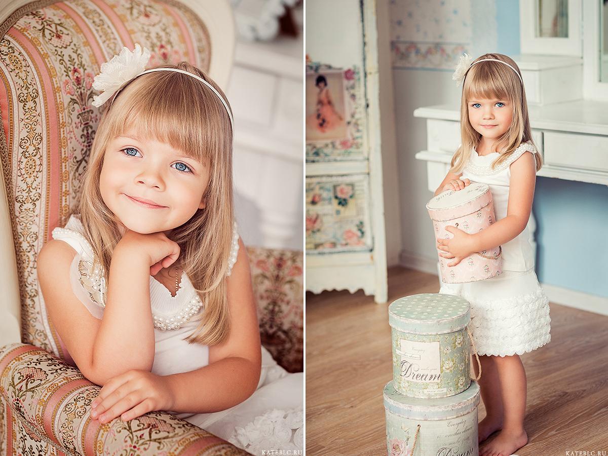 Детская фотосессия в студии. Фотограф Катрин Белоцерковская. kateblc.ru
