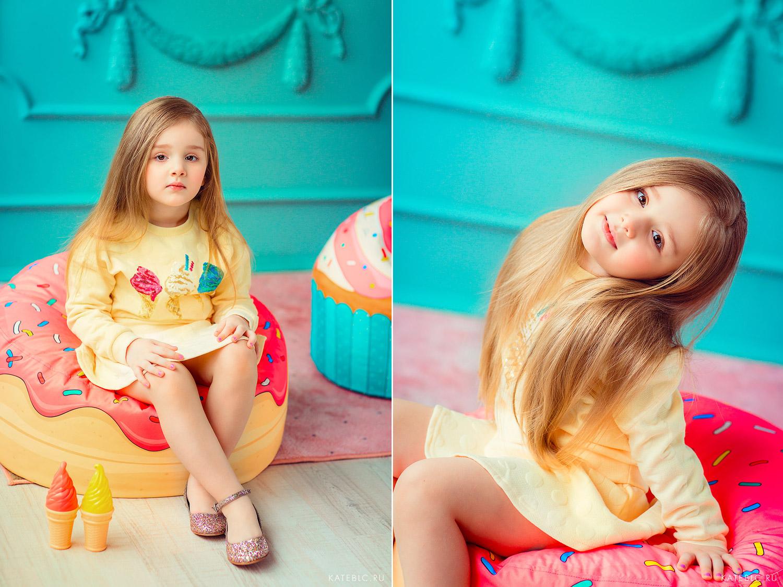 яркие фотосъемки для детей в студии. Москва