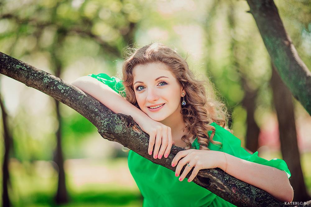 Портретная фотосессия для девушки. Фотограф Катрин Белоцерковская kateblc.ru