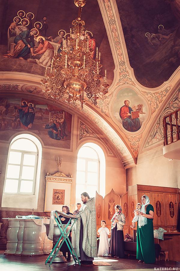 Фотосъемка крещения. Детский фотограф в Москве