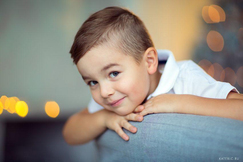 Детский портрет. Фотограф Катрин Белоцерковская