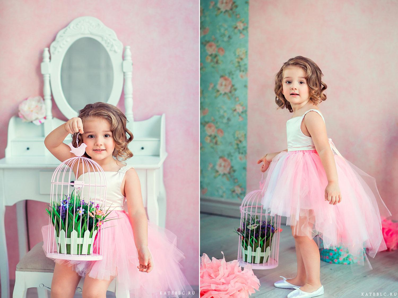 Фотосессия для дочки на день рождения. Фотограф Катрин Белоцерковская