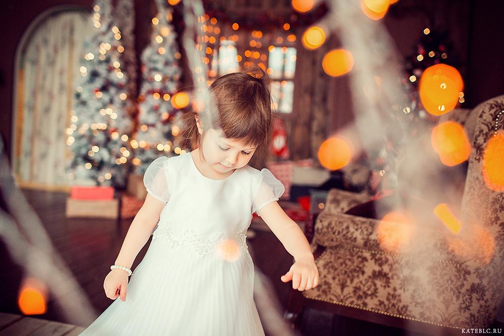 Детская фотосессия на новый год. kateblc.ru