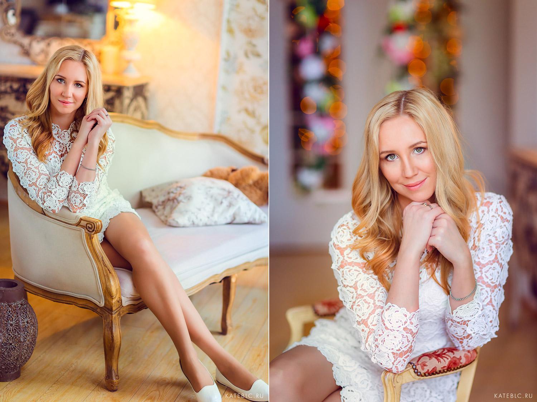 Портрет девушки в студии. Детский и Семейный фотограф Катрин Белоцерковская